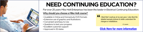 Mike Holt Free Resources