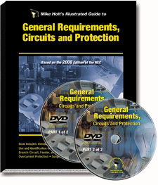 2008 General Requirements Circuits and Protection Articles 90 285 Excluding 250 220 DVD - 08NCDVD1