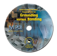 2008 Grounding versus Bonding MP3 Audio CD - 08GBMP