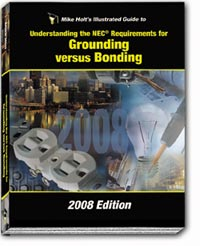 2008 Grounding versus Bonding Textbook - 08NCT2