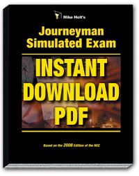 2008 Journeyman Simulated Exam Download - 08JXPDF