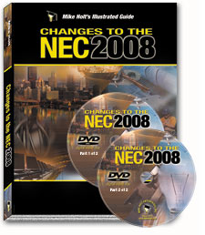 2008 NEC Changes Articles 100 830 with DVDs Continued Education - 08WADVD