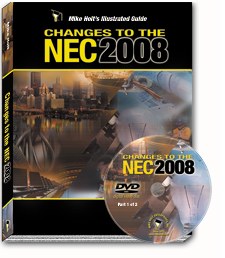 2008 NEC Code Changes Part 1 Articles 100 376 DVD - 08CCD1