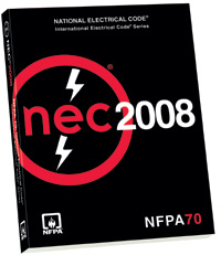 2008 NFPA Softbound Code Book - 08PB