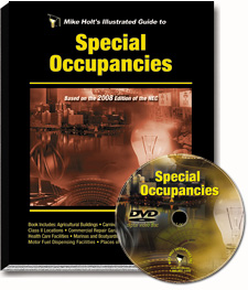 2008 Special Occupancies Articles 500 590 DVD - 08NCDVD5