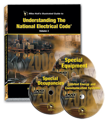 2008 Understanding the NEC Volume 2 Textbook with DVDs - 08UN2DVD