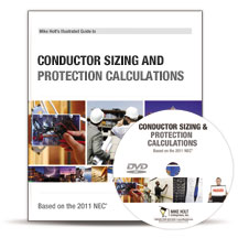 2011 Conductor Sizing and Protection DVD - 11CLD2