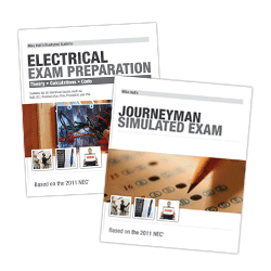 2011 Electrician Exam Prep Book Journeyman Simulated Exam - 11EPJX