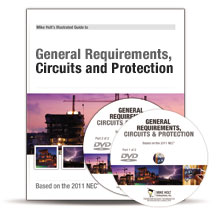 2011 General Requirements Circuits and Protection Articles 90 285 Excluding 250 220 DVD - 11NCDVD1