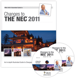 2011 NEC Changes DVD Package For CEU - 11WADVD