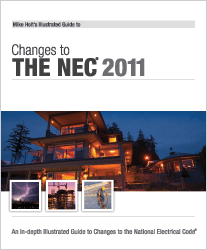 2011 NEC Code Changes Textbook - 11BK