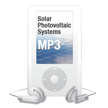 2011 Solar Photovoltaic Systems MP3 Audio Download - 11SOLMP