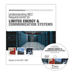 2011 Understanding NEC Requirements for Limited Energy and Communication Systems DVD - 11LED