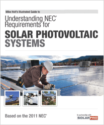 2011 Understanding NEC Requirements for Solar Photovoltaic Systems Textbook - 11SOLB