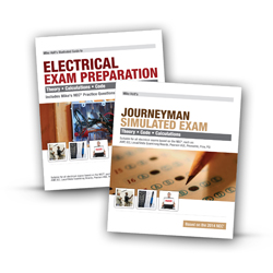 2014 Electrician Exam Preparation Book Journeyman Simulated Exam - 14EPJX