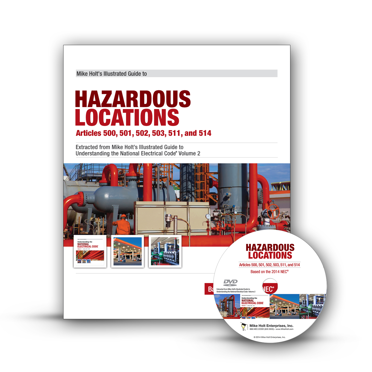 Mike Holt Code Amp Safety 2014 Hazardous Locations Dvd Package
