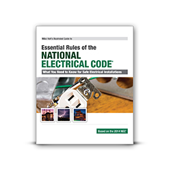 2014 Illustrated Guide to the Essential NEC Rules Textbook - 14NEC101