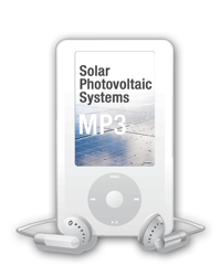 2014 Solar Photovoltaic Systems MP3 Audio Download - 14SOLMP