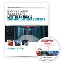 2014 Understanding NEC Requirements for Limited Energy and Communications Systems DVD - 14LED