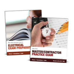 2017 Electrician Exam Preparation Book Master Contractor Simulated Exam - 17EPMX