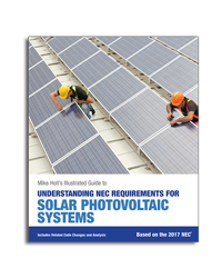 2017 Understanding NEC Requirements for Solar Photovoltaic Systems Textbook - 17SOLB