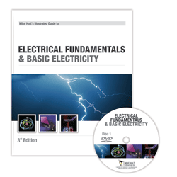 Electrical Fundamentals Basic Electricity DVD w 100 Question CEU Exam - ETD1Q100