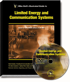 Limited Energy and Communication Systems NEC 720 820 DVD - 08NCDVD7