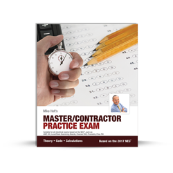 Master Contractor Practice Exam 2017 NEC - 17MX