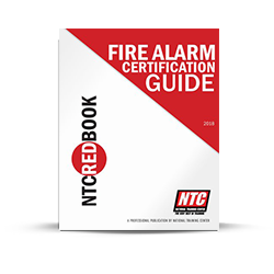 NTC Red Book Fire Alarm Certification Guide NICET Levels 1 4 - NTCRED