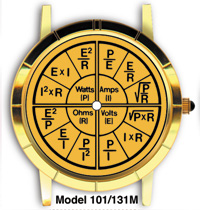 Ohm s Law Watch Gold Face - WTCHG