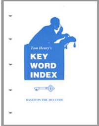 Tom Henry s Key Word Index 2011 Edition - 11KEYW