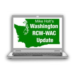 Washington RCW WAC Update Online - RCWACOL