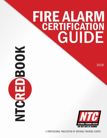 Mike Holt Other Products - NTC Red Book, Fire Alarm Certification ...