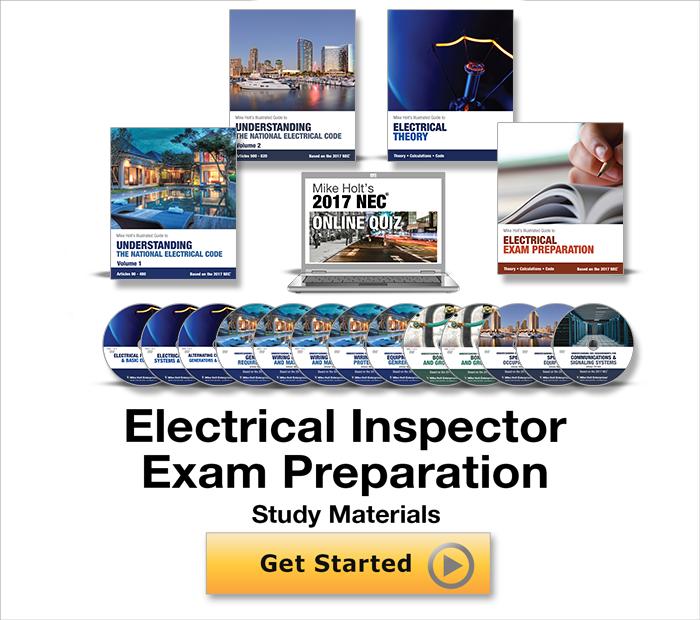 Electrical Inspector Exam Preparation