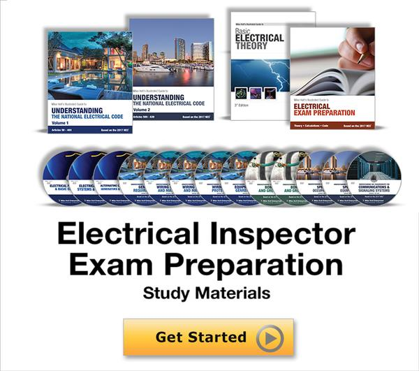 Mike Holt Electrical Inspector Exam Preparation