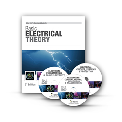 Electricians Basic Electrical Theory Library with DVDs