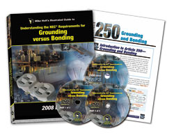 2008 Grounding versus Bonding Library DVDs - 08GBDVD