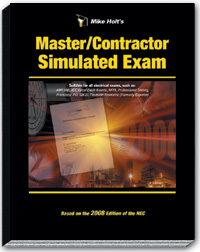 2008 Master Contractor Simulated Exam - 08MX