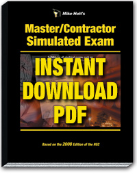 2008 Master Contractor Simulated Exam Download - 08MXPDF