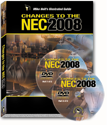 2008 NEC Changes Articles 100 830 with DVDs - 08CCDVD