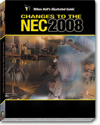 2008 NEC Code Changes Textbook - 08BK