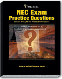 2008 NEC Exam Practice Questions Textbook - 08PQ