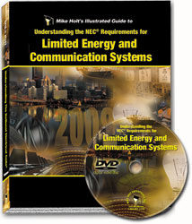 2008 Understanding the NEC Requirements for Limited Energy and Communication Systems DVD - 08LED