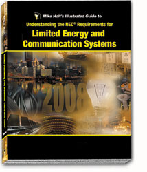 2008 Understanding the NEC Requirements for Limited Energy and Communication Systems Textbook - 08LE