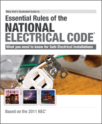 2011 Illustrated Guide to the Essential NEC Rules Textbook - 11NEC101