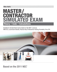 2011 Master Contractor Simulated Exam - 11MX
