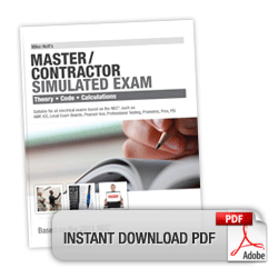 2011 Master Contractor Simulated Exam Download - 11MXPDF