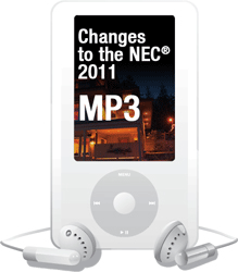 2011 NEC Changes MP3 Audio Download - 11CCMP