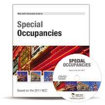 2011 Special Occupancies Article 500 590 DVD - 11NCDVD5