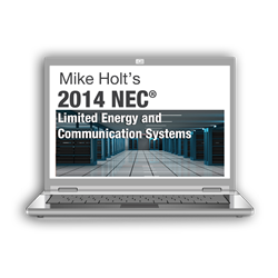 2014 Limited Energy and Communication Systems Online Course - 14LEOL